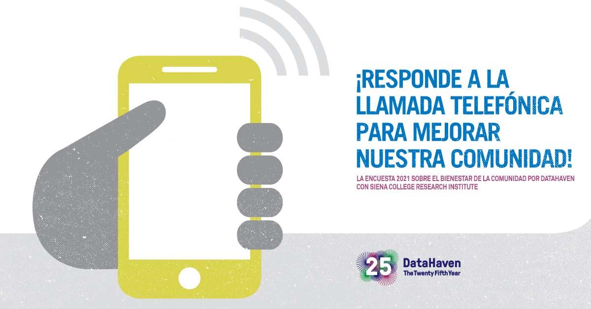 datahaven survey 2021 graphic Spanish