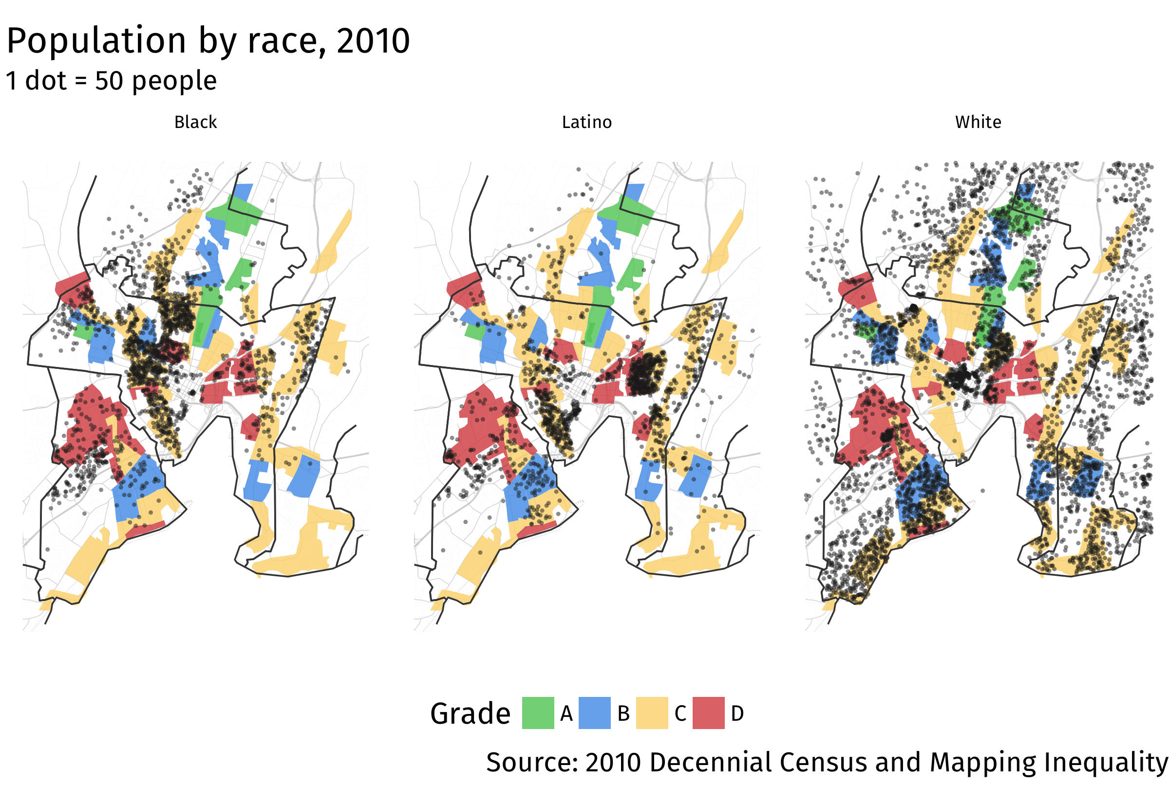 connecticut housing segregation data