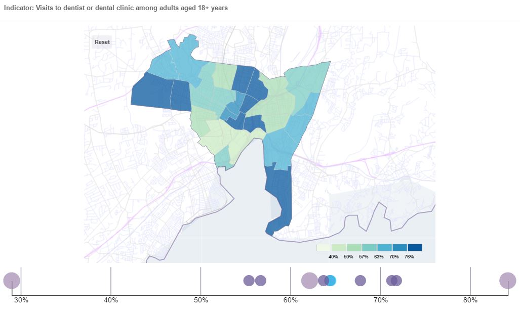 500 Cities data viewer new haven connecticut data
