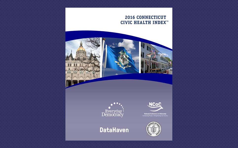 Connecticut data index civic health