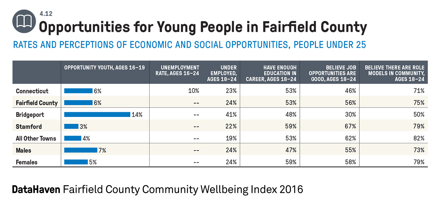 Youth opportunity Connecticut data example