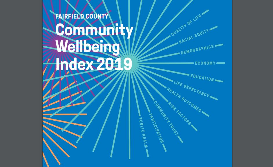 2019 Fairfield County Index DataHaven Connecticut Data study Cover