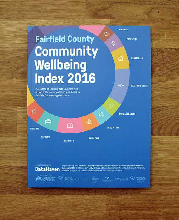 Community Index Fairfield County Connecticut data analysis cover thumbnail