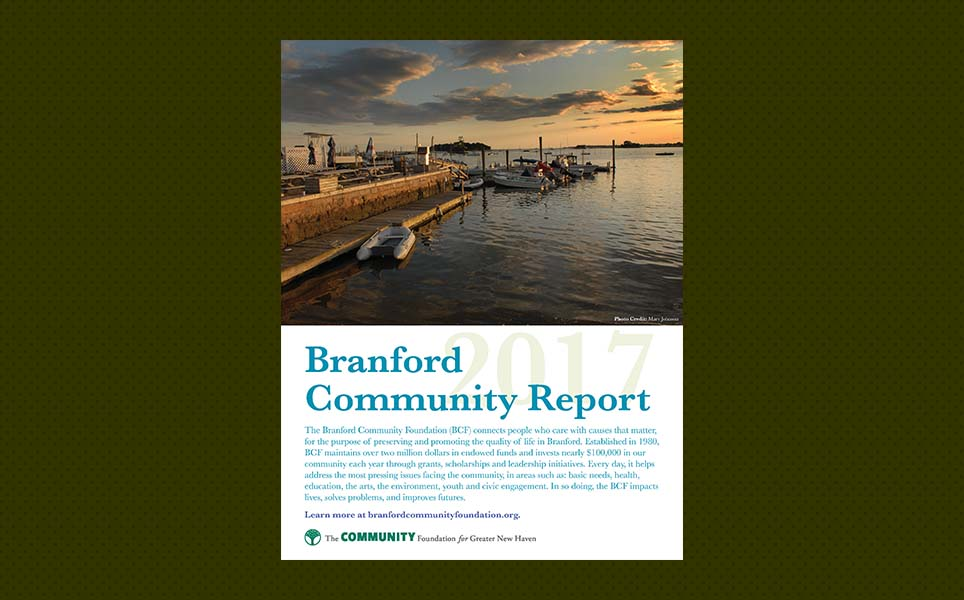 Branford town Connecticut data report